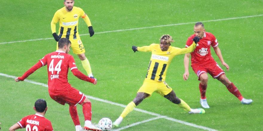 TFF 1. Lig: Menemenspor: 1 - Balıkesirspor: 1
