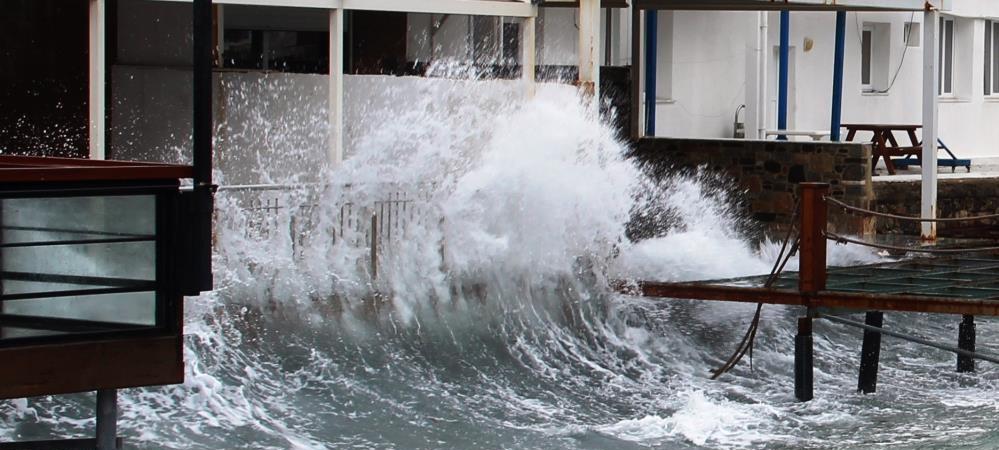 Güney Ege'de kuvvetli fırtına bekleniyor