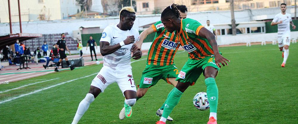 Süper Lig: A. Hatayspor: 0 - A. Alanyaspor: 0