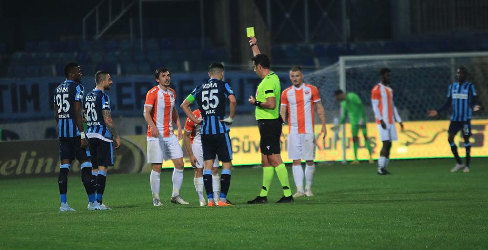 TFF 1. Lig: Adanaspor: 2 - Adana Demirspor: 2
