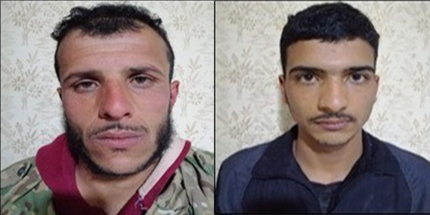 Cerablus'ta eylem hazırlığındaki 2 terörist yakalandı