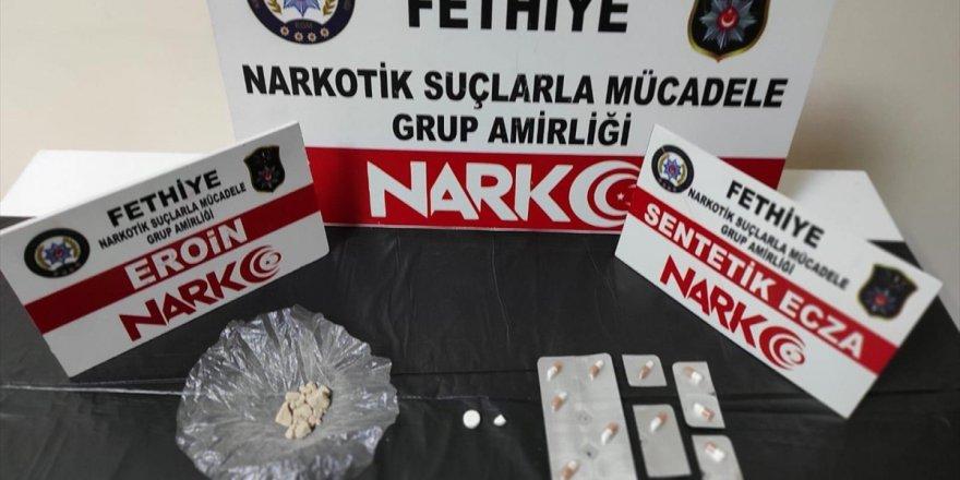 Muğla'da uyuşturucu operasyonunda yakalanan 3 zanlı tutuklandı