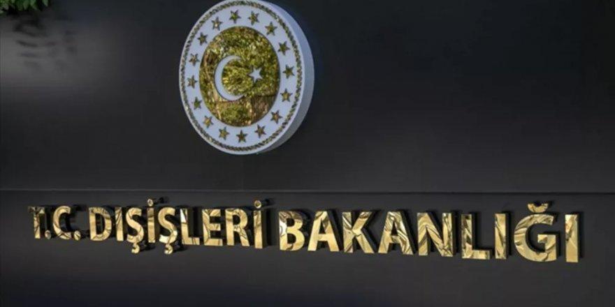 Dışişleri Bakanlığı: ABD Büyükelçisi çağrılarak 'en kuvvetli şekilde' tepkimiz dile getirildi