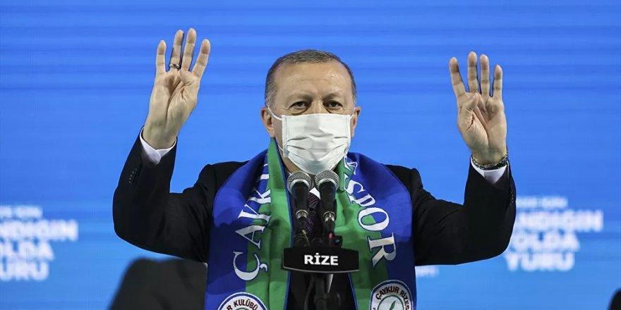 Erdoğan'dan ABD'ye: Bal gibi de PKK'nın yanındasınız