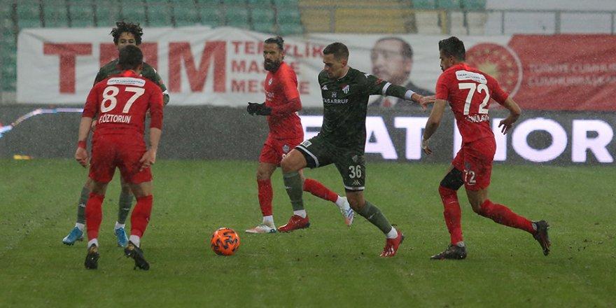 TFF 1. Lig: Bursaspor: 0 - Tuzlaspor: 0