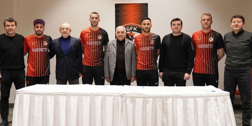 Gaziantep FK, 4 futbolcu ile sözleşme imzaladı