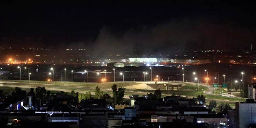 Erbil'de ABD askeri üssünün de bulunduğu havaalanına saldırı
