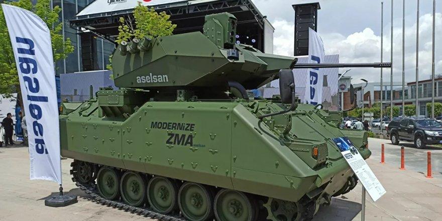 Amerikan menşeli zırhlı muharebe araçları Türk sistemleriyle modernize ediliyor