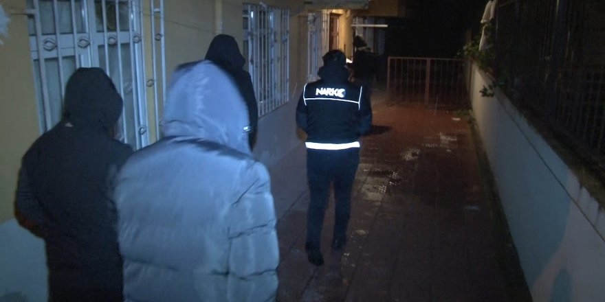 İstanbul merkezli 4 ilde eş zamanlı uyuşturucu operasyonu