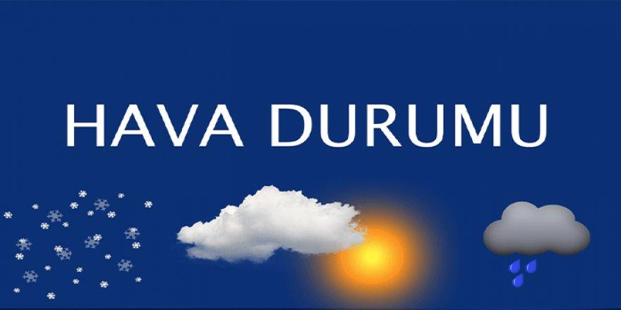İzmir'in yükseklerinde kar yağışı bekleniyor! Yurtta hava durumu