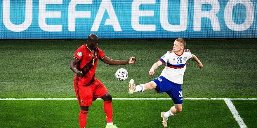 Rusya, EURO 2020'de Belçika'ya mağlup oldu