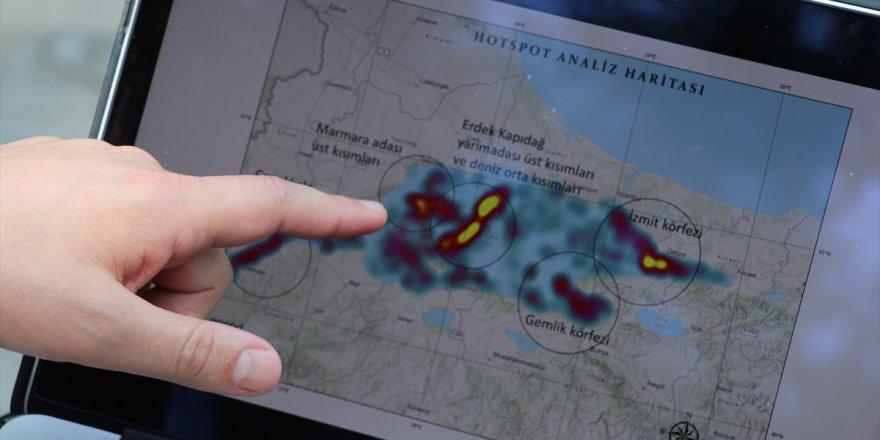 """Müsilajın yayılımının uydu görüntüleriyle takip edilebilmesi için """"kod"""" yazdılar"""
