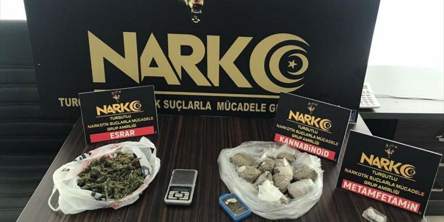 Manisa'da uyuşturucu operasyonunda yakalanan 2 şüpheli tutuklandı