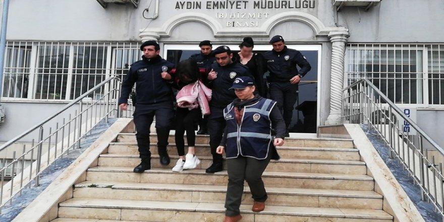 Aydın'da fuhuş operasyonu gözaltına alınan 5 kişi serbest bırakıldı