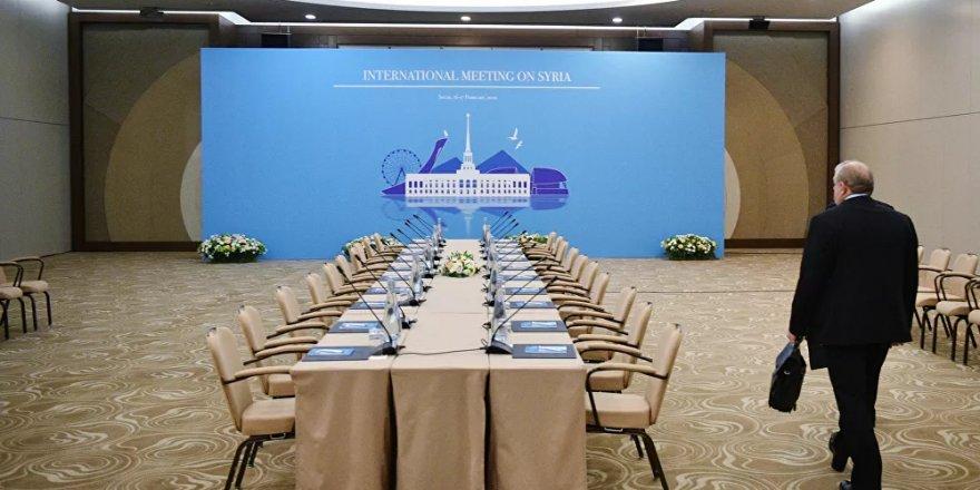 Pandeminin başlamasından bu yana ilk Astana görüşmesi Soçi'de