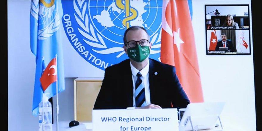 Dünya Sağlık Örgütü Avrupa Direktörü Kluge'dan Türkiye'ye tebrik