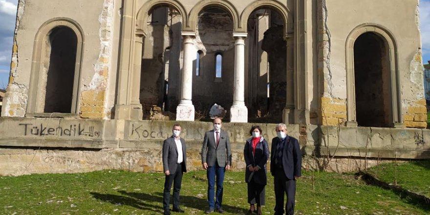 Yorgi Kilisesi ve Papazın Konağı'nda restorasyon