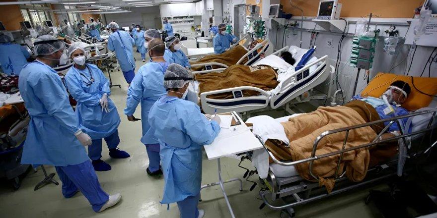 Brezilya'da koronavirüs ölümleri 500 bini aştı
