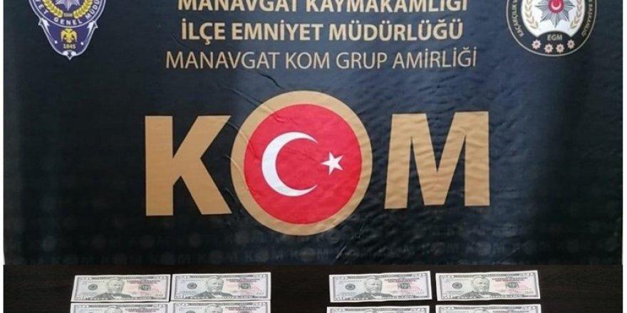 Antalya'da sahte para operasyonunda 5 gözaltı