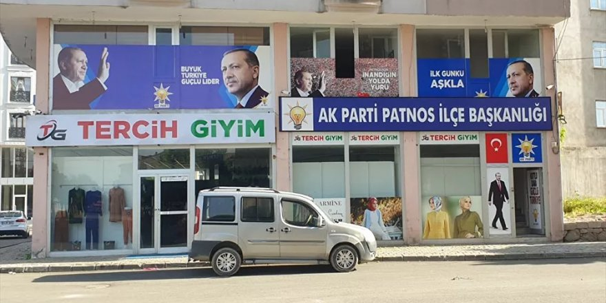 AK Parti Patnos İlçe Başkanlığı'na molotofkokteyli ile saldırı girişimi: 6 kişi gözaltına alındı
