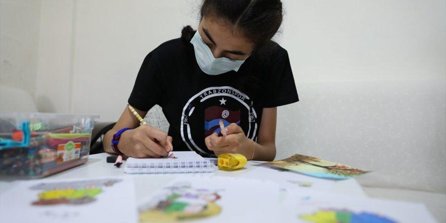 Yapay kalple yaşayan Zeynep, resimlerini çizdiği kalbe kavuşmayı bekliyor