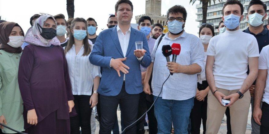 AK Parti İzmir İl Gençlik Kolları Başkanı Taslak'tan Tunç Soyer'e tepki