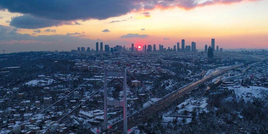 İstanbul'da kar yağışı devam ediyor: Sabah saatlerinden itibaren etkili olmaya başladı