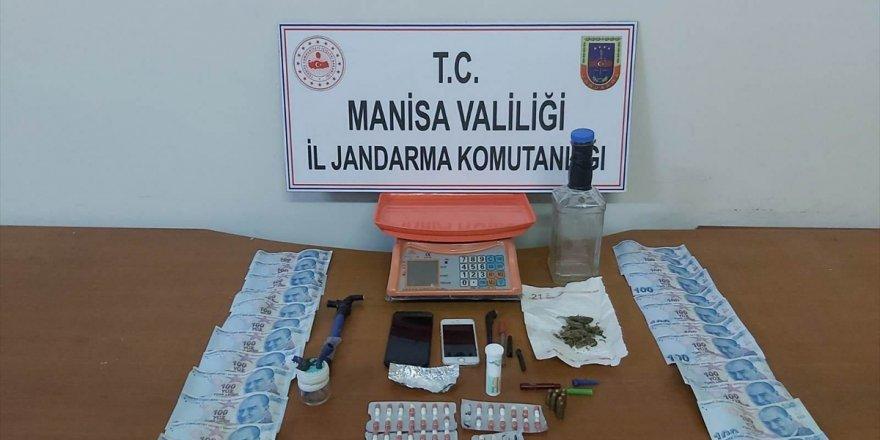 Alaşehir'de uyuşturucu operasyonunda 1 kişi yakalandı