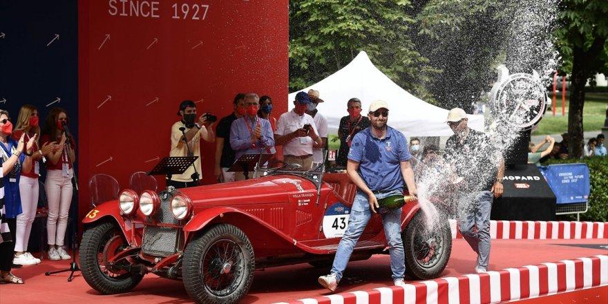 Mille Miglia yarışı, Alfa Romeo'nun zaferiyle sonuçlandı