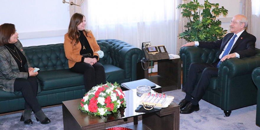 Kadın başkanlardan CHP Genel Başkanına ziyaret