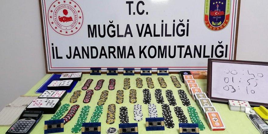 18 kişiye 56 bin 448 TL kumar cezası