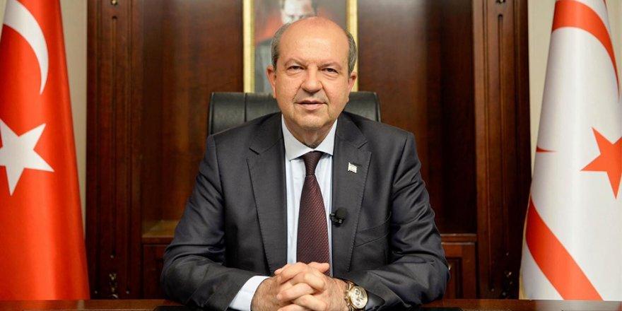 """Cumhurbaşkanı Tatar: """"Rum tarafının şartlarına boyun eğecek değiliz"""""""