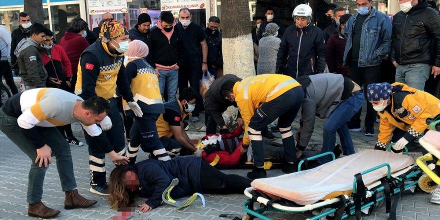 Muğla'da yayaya çarpan motosikletli, kafasına aldığı yarayla yaşamını yitirdi