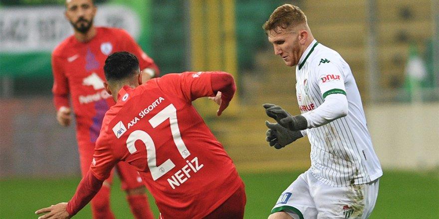 Bursaspor'da Balıkesirspor maçı öncesi 5 oyuncu kart sınırında