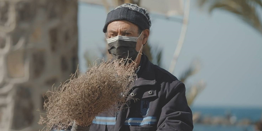 Bodrum'da temizlik işçisinin bir günü kısa filmle anlatıldı
