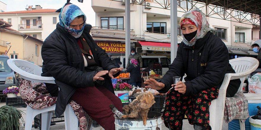 Soğuk, pazarcıları vurdu