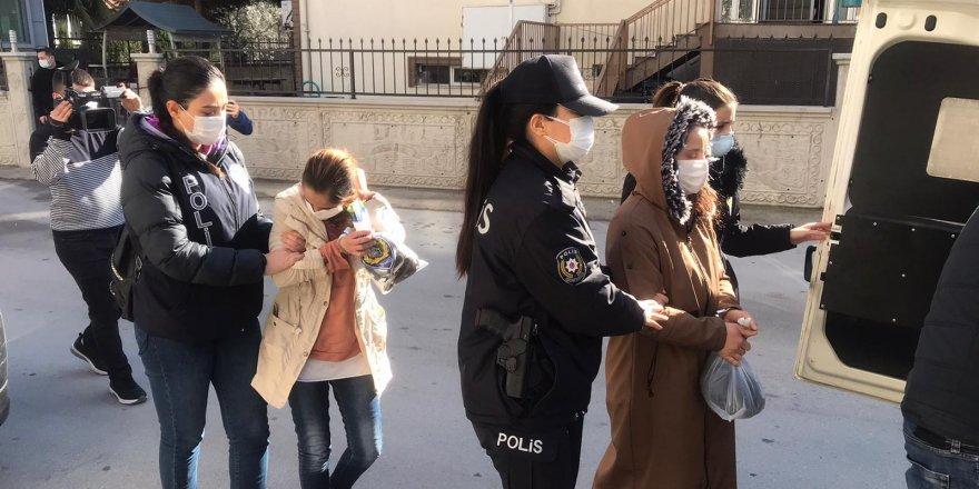 3 kadın hırsız keşif yaparken yakalandı