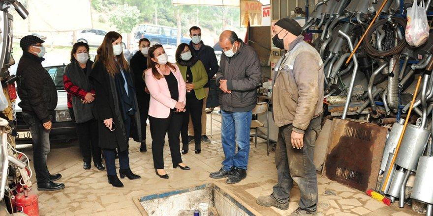 Balçova'da selin yaraları sarılıyor