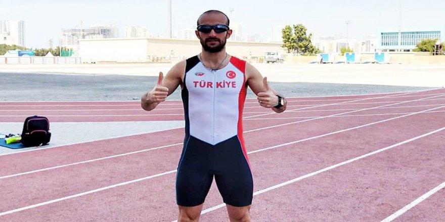Nilüferli milli atlettin hem rekor hem de olimpiyat sevinci