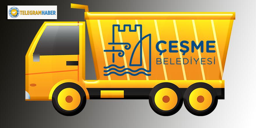 Yaşasın! Çeşme Belediyesi bu yılki kiralık kamyonları Muş'ta değil, İstanbul'da bulmuş...