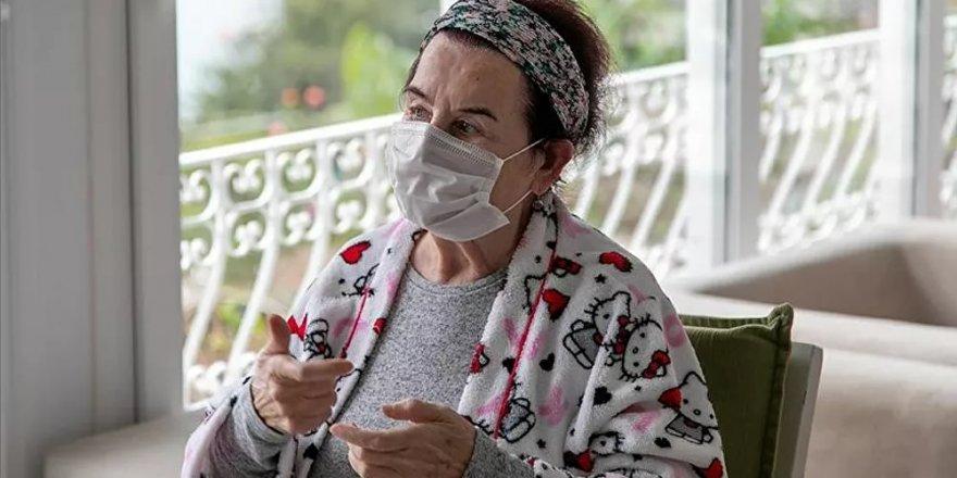 Tedavisi tamamlanan Fatma Girik taburcu edildi