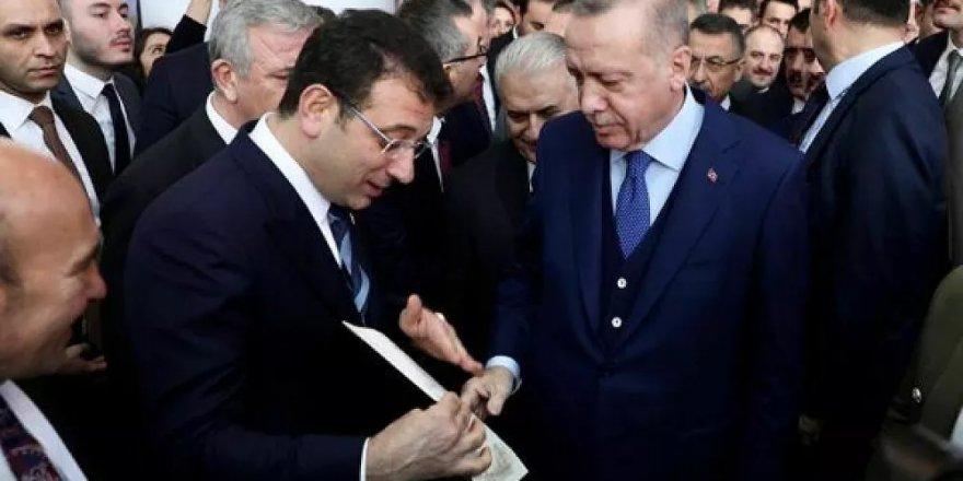 'Erdoğan ile görüşen İmamoğlu, iki talepte bulundu'