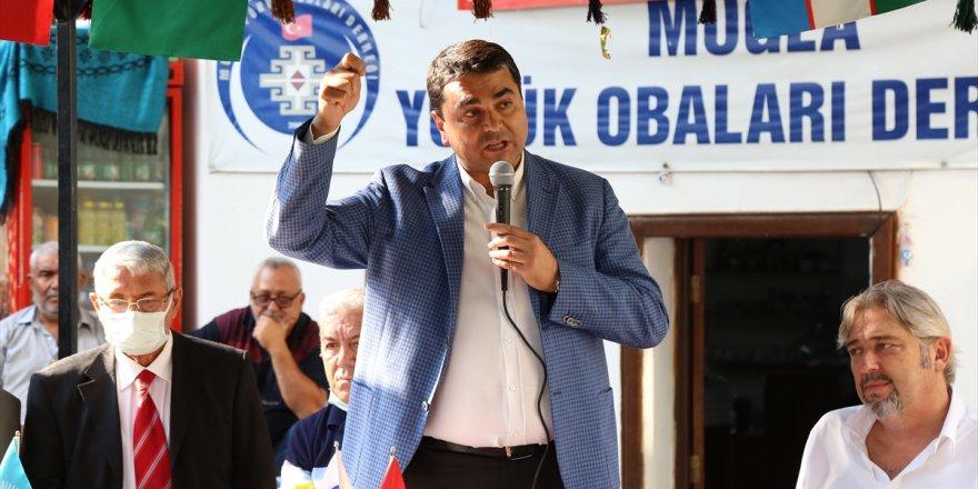 DP Genel Başkanı Gültekin Uysal, Muğla Yörük Obaları Derneği'nde konuştu