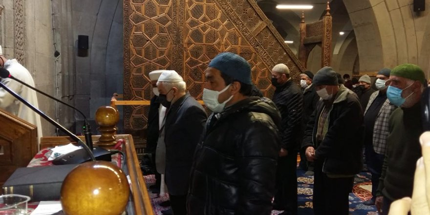 Gara şehitleri için Kayseri'de gıyabi cenaze namazı kılındı
