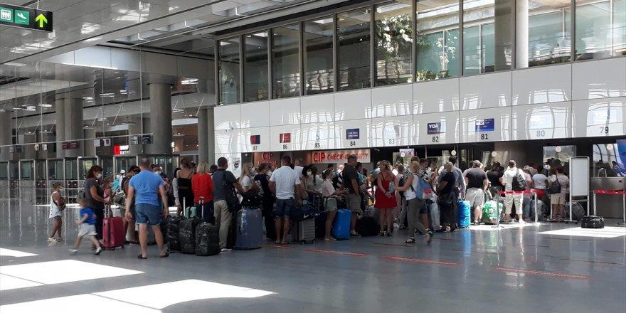 Dalaman Havalimanı'ndan bayram tatilinde 275 uçuş gerçekleştirildi