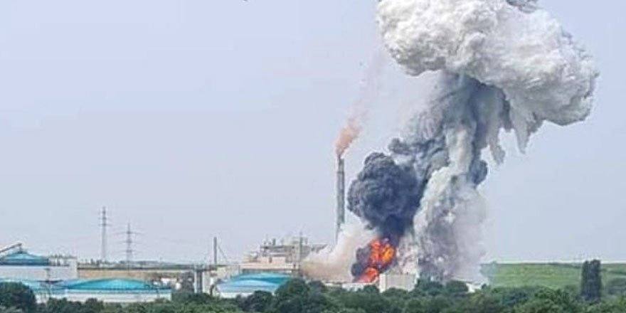 Almanya'da kimya tesisinde patlama: 5 kişi kayıp