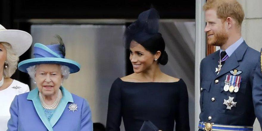 Prens Harry ile Meghan Markle son noktayı koydu: Kraliyet ailesinden resmen ayrıldılar