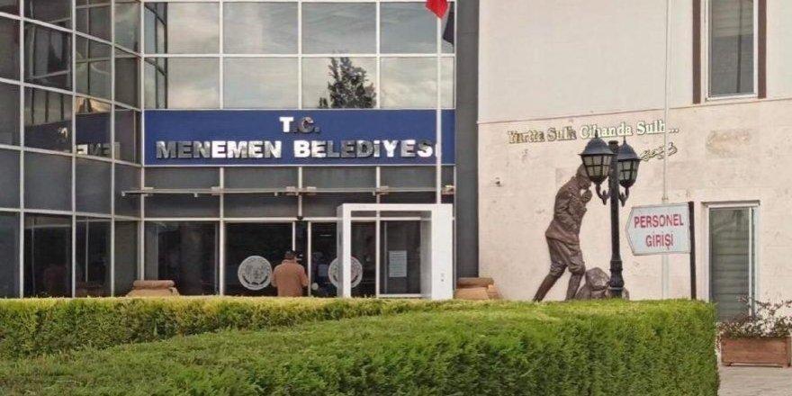 Menemen'de belediye şirketindeki yönetim yetkisi başkanvekili Pehlivan'a verildi