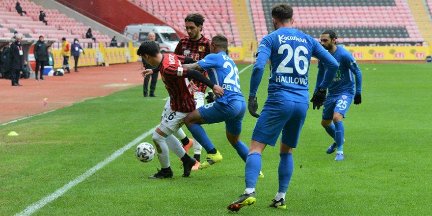 TFF 1. Lig: Eskişehirspor: 2 - Bandırmaspor: 1