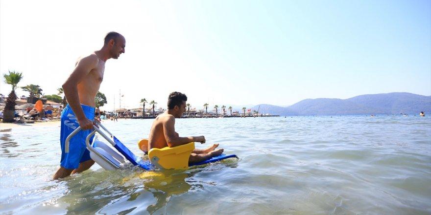 Muğla'da 20 plaj engelliler için düzenlendi